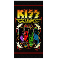 KISS - Year of the Monster Jumbo Beach Towel