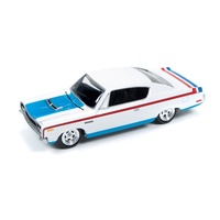 Johnny Lightning 1:64 Scale Muscle Cars USA - 1970 AMC Rebel Machine
