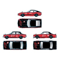 M2 Machines 1:64 Scale Coca-Cola Auto-Japan - Release 1 Assortment (3 Styles)
