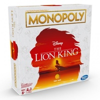 Monopoly Disney The Lion King Edition Board Game with Musical Stand