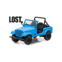 Greenlight 1:64 Diecast Lost 1977 Dharma Jeep CJ7