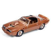 Johnny Lightning 1:64 Scale Classic Gold Collections Release 3 Set B 1965 978 Pontiac Firebird Trans Am Laredo