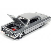 RACING CHAMPIONS MINT 1:64 Diecast 1964 Chevrolet Impala (Satin Silver Poly)