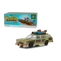 "National Lampoon's Vacation (1983) - 1979 Wagon Queen ""Family Truckster"" Honky Lips Version 1:18 Diecast by Greenlight"