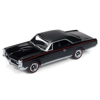 Johnny Lightning 1:64 Scale Muscles Cars USA 1967 Pontiac GTO - Starlight Black