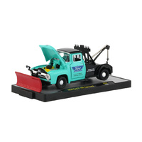 M2 Machines Auto-Trucks 1:64 Scale 1956 Ford F-100 Tow Truck R52