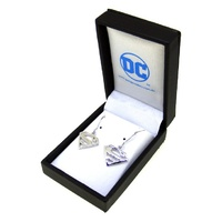 DC Comics - Superman Sterling Silver Hook Earrings
