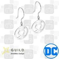 DC Comics - Green Lantern Sterling Silver Hook Earrings