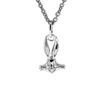 Looney Tunes - Bugs Bunny Sterling Silver Charm Pendant