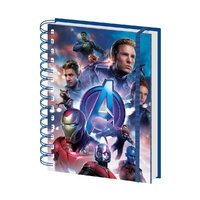 Avengers 4 - Endgame Hardcover A5 Notebook