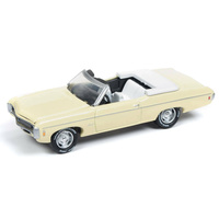 Johnny Lightning 1:64 Scale Classic Gold - 1969 Chevrolet Impala Convertible Butternut Yellow