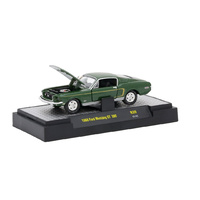 M2 Machines Detroit-Muscle 1:64 Scale 1968 Ford Mustang GT 390 R39