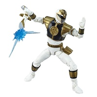 "Saban's Power Rangers Lightning Collection 6"" Action Figure - Mighty Morphin White Ranger"