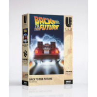 Back To The Future 1000 Piece Jigsaw Puzzle - The Delorean