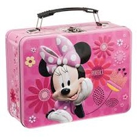 Minnie Mouse Adorable Bows Lunch Box Tin Tote *US Exclusive*