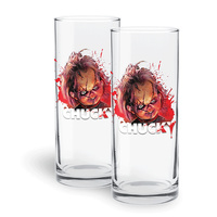 Child's Play - Chucky Highball Glass Set - 2 Pack