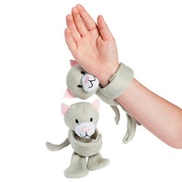 Hugging Plush Anxiety Buddy Bracelets - Cat