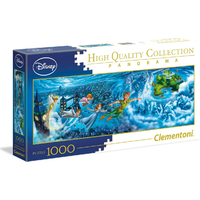 Clementoni Disney Puzzle Peter Pan Panorama 1000 Pieces Jigsaw Puzzle