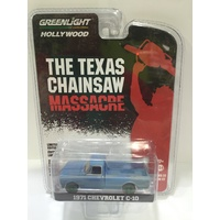 Greenlight 1:64 Scale Hollywood Series - Texas Chainsaw Massacre - 1971 Chevrolet C-10 - CHASE