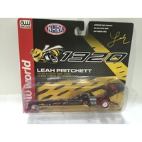 Auto World 1:64 Scale Championship NHRA Drag Racing - Leah Pritchett - 2018 Angry Bee 1320 Dragster - CHASE
