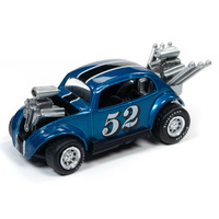 Johnny Lightning 1:64 Scale Street Freaks 2019 Release 3B - Spoilers - Bug Bomb #52 (Teal)