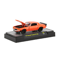 M2 Machines 1:64 Auto-Shows Release 56 - 1971 Chevrolet Camaro SS 396 in Crush Orange