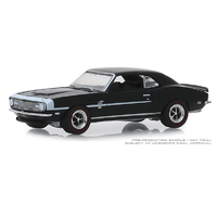Greenlight 1:64 GL Muscle Series 22 - 1968 Chevrolet COPO Camaro in Tuxedo Black