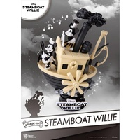 Disney D-Stage DS-017 Steamboat Willie PX Previews Exclusive Statue