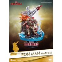 Marvel Iron Man 3 D-Stage DS-016SP Iron Man Mark XLII PX Previews Exclusive Statue