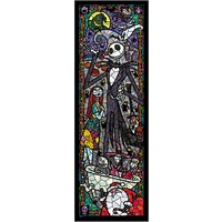 Tenyo Disney Nightmare Before Christmas Jigsaw Puzzle - Stained Glass 456 pieces