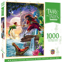 Masterpieces Classic Fairy Tale Jigsaw Puzzle 1,000 Piece - Peter Pan