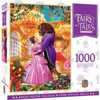 Masterpieces Classic Fairy Tale Jigsaw Puzzle 1,000 Piece - Beauty and the Beast