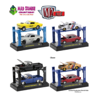 M2 Machines Auto-Lifts 1:64 Scale - Release 18 Assortment (3 Styles)(2020)