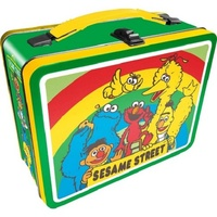 Sesame Street Cast Tin Carry All Lunch Box