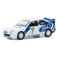 Greenlight 1:64 Hot Hatches Series 1 - 1996 Ford Escort RS Cosworth - WRC #7 Rally Car (1998)