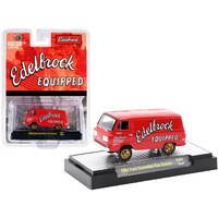 M2 Machines 1:64 Scale - Hobby Exclusive Gasser 1964 Ford Econoline Van Gasser Edelbrock Limited Edition