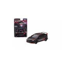 "MiJo Exclusive True Scale Miniatures Mini GT - Honda Civic Type R (FK8) Black ""Customer Racing Study U.S.A."" Limited Edition to 3,600 pieces Worldwide"