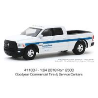 Greenlight 1:64 Running On Empty Series 10 - Goodyear Commercial Tire & Service Centers - 2018 Ram 2500 Pickup
