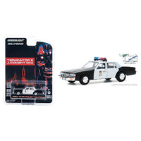 Hollywood Series 29 - Terminator 2: Judgment Day (1991) - 1987 Chevrolet Caprice Metropolitan Police (Black/White)