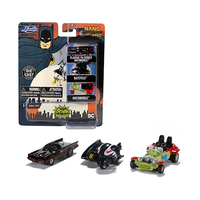 Batman 1966 -  Nano Hollywood Rides - Batman Classic TV Series 3-Pack - 1.65""