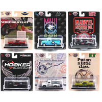 M2 Machines 1:64  - Auto-Drivers Release 68 Assortment 6 Styles