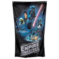 Star Wars - Empire Strikes Back Wall Flag