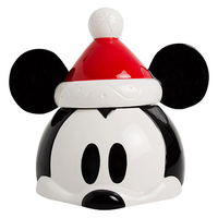 Disney Christmas Cookie Jar Mickey Mouse