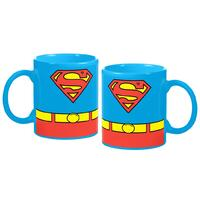 DC Comics Superman Costume Coffee Mug