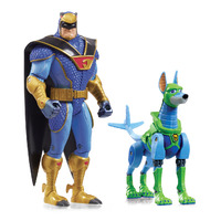 Scoob! Blue Falcon & Dynomutt Action Figure Twin Pack