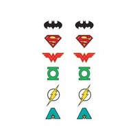 Justice League 6 Pack Earrings
