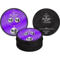 The Nightmare Before Christmas Jack Skellington Necklace & Earring Gift Box