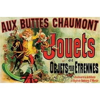 Aux Buttes Chaumont Jouets - Friends French Poster #38
