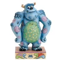 JIM SHORE DISNEY TRADITIONS - SULLEY SULLIVAN GENTLE GIANT MONSTERS INC FIGURINE