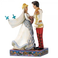 Jim Shore Disney Traditions - Cinderella & Prince Wedding Figurine - Happily Ever After